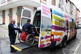 Engelli Seçmenler Asansörlü Araçlarla Taşınacak