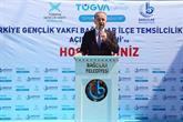 TÜGVA Bağcılar İlçe Temsilciliği Hizmete Açıldı