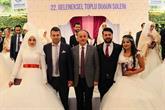25 Çift Toplu Düğün Şöleni'nde Evet Dedi
