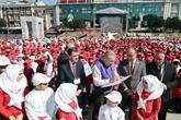 Bağcılar'da 1380 Çocuk İşaret Diliyle İstiklal Marşı Okuma Rekoru Kırdı