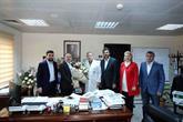 Başkan Çağırıcı Sağlık Çalışanlarını Ziyaret Ederek Bayramlarını Kutladı