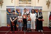 Resim Yarışmasında Başarılı Olan Engelliler Ödüllendirildi