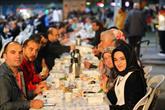 Bağcılar'da sahurda Türkiye sofrası kuruldu