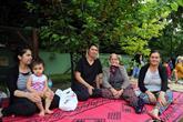 Nostalji Bahçeleri'nde 3 nesil bir arada iftar yaptı