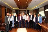 Fikret Orman, Bağcılar Belediye Başkanı Lokman Çağırıcı'yı ziyaret etti