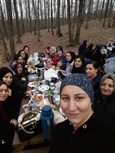 Ev Hanımları Önce Fitness Sonra Piknik Yapıyor