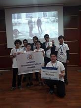 Enderunlu Öğrenciler Robot Yarışmasında Birinci Oldu