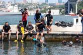 Engelliler ile Gaziler, 15 Temmuz Şehitleri Anısına Su Altı Dalışı Yaptı