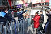 Bağcılar'ın En İşlek Caddeleri Yayalara Kapatıldı
