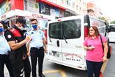 Bağcılar'da Polis-Zabıta Birlikte Maske Denetimi Yaptı