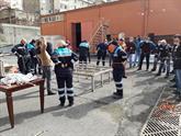 """Bağcılar'da BAĞKUT ve YARKUR'dan """"Arama Kurtarma"""" Eğitimi"""